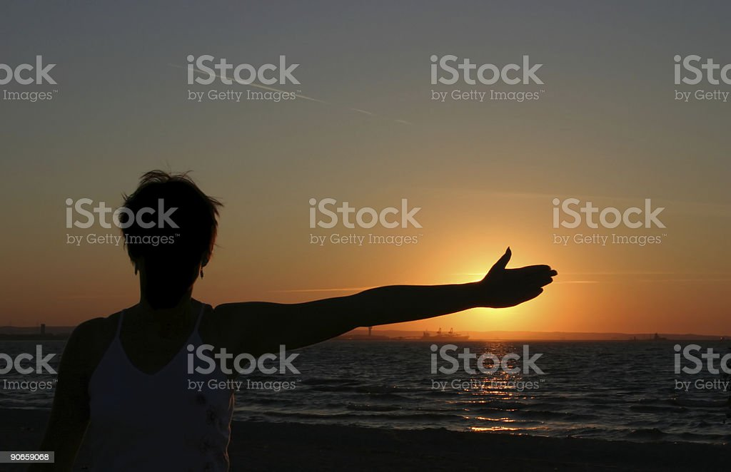 sunblocker royalty-free stock photo