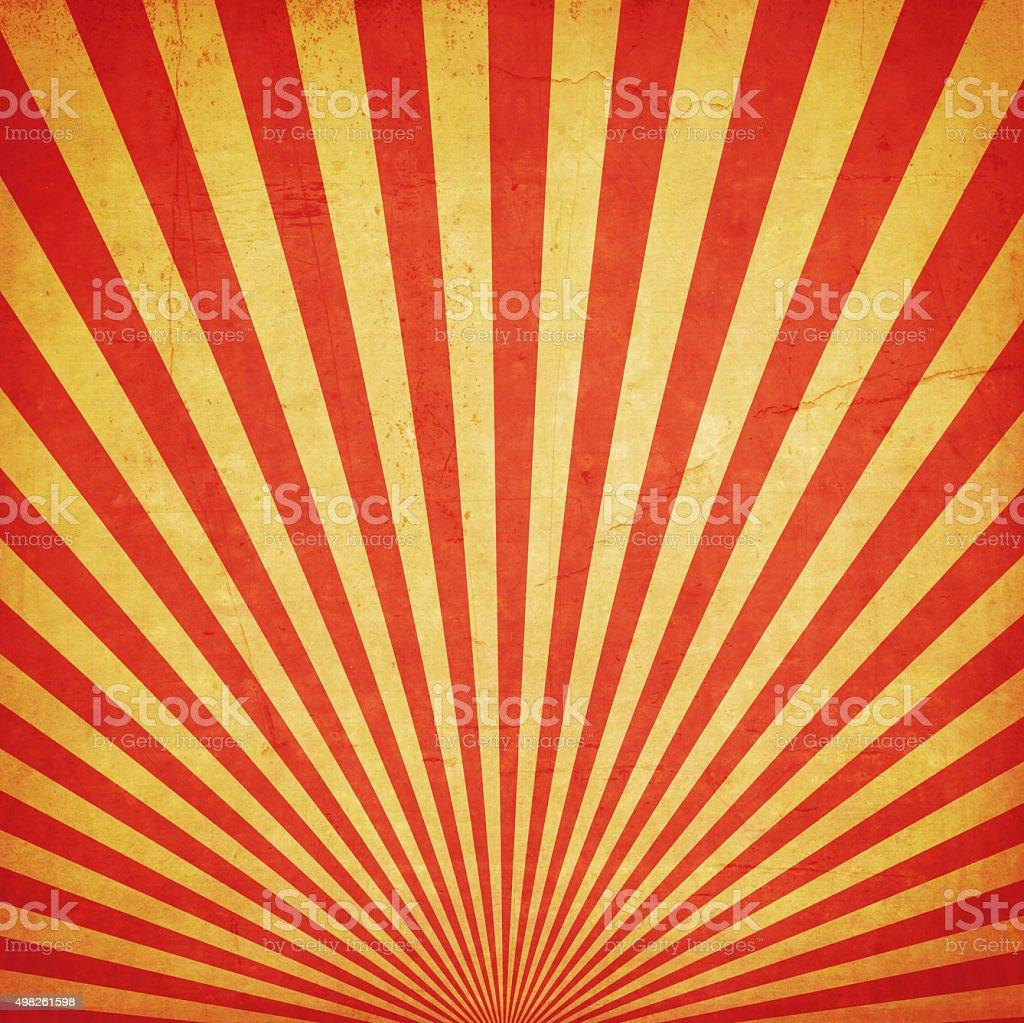 sunburst retro background and duplicate grunge texture - 免版稅2015年圖庫照片