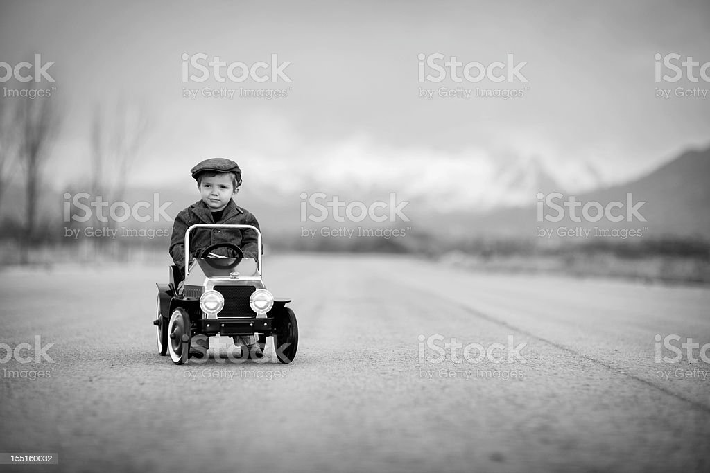 Sunday Driver stock photo