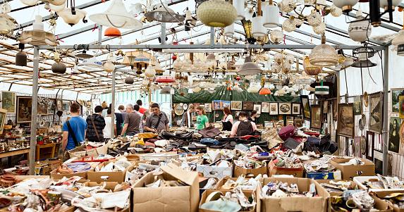 Sunday Flea Market at Mauerpark, Berlin