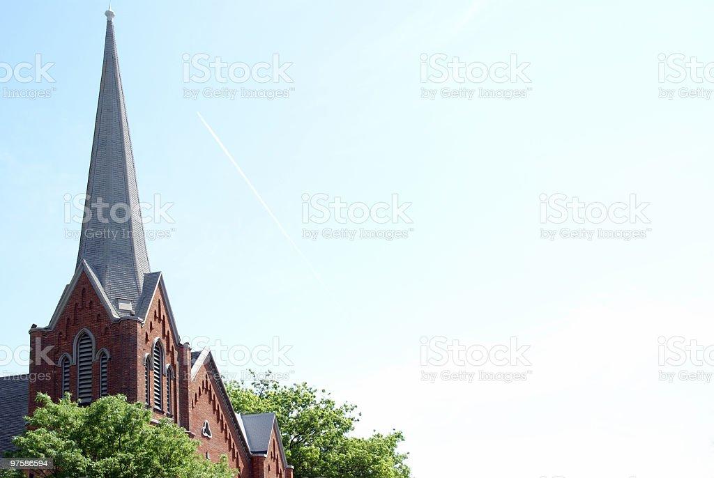Sunday Morning - Church Background royalty-free stock photo
