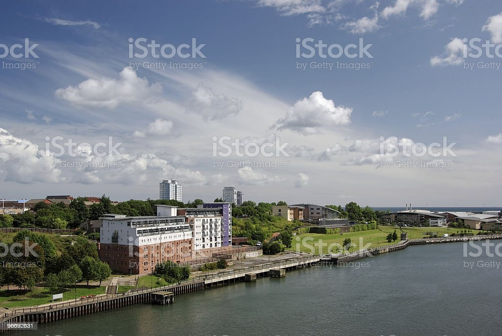 Sunderland North Shore stock photo