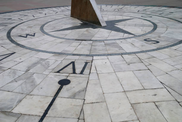 Sundial on the central square of Berdyansk, Ukraine. Sundial on the central square of Berdyansk, Ukraine. descry stock pictures, royalty-free photos & images