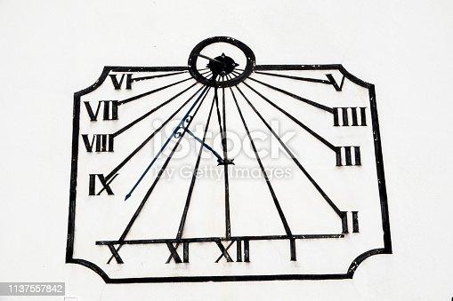 istock Sundial. 1137557842