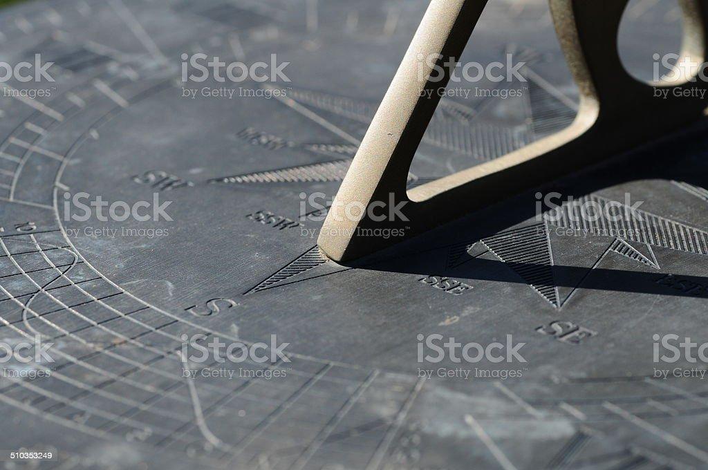 Sundial, U.K. stock photo