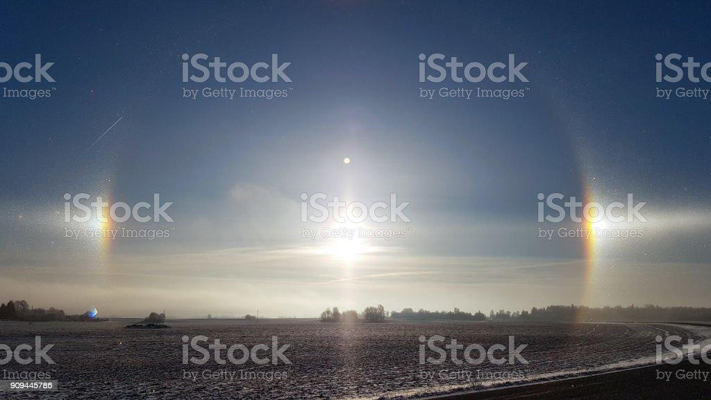 Sundog halo – Foto