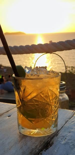 Sundown ibiza - foto de stock