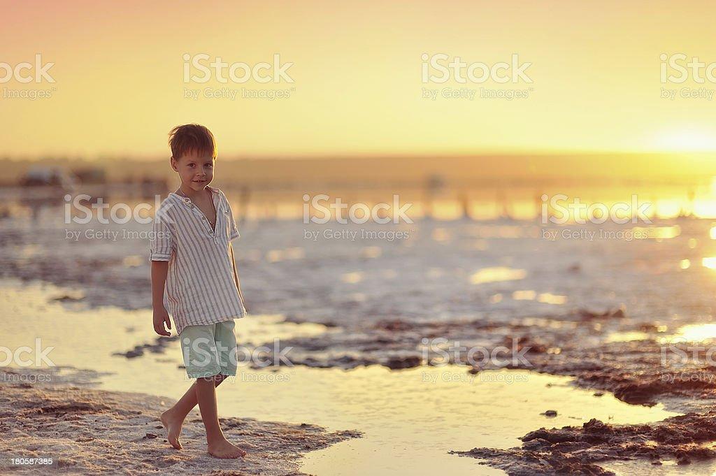 sundown royalty-free stock photo