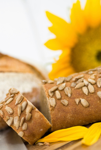 Sunflower Seed Bread Stock Photo - Download Image Now