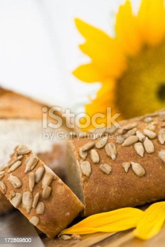 Sunflower Seed Bread Stock Photo & More Pictures of Baking