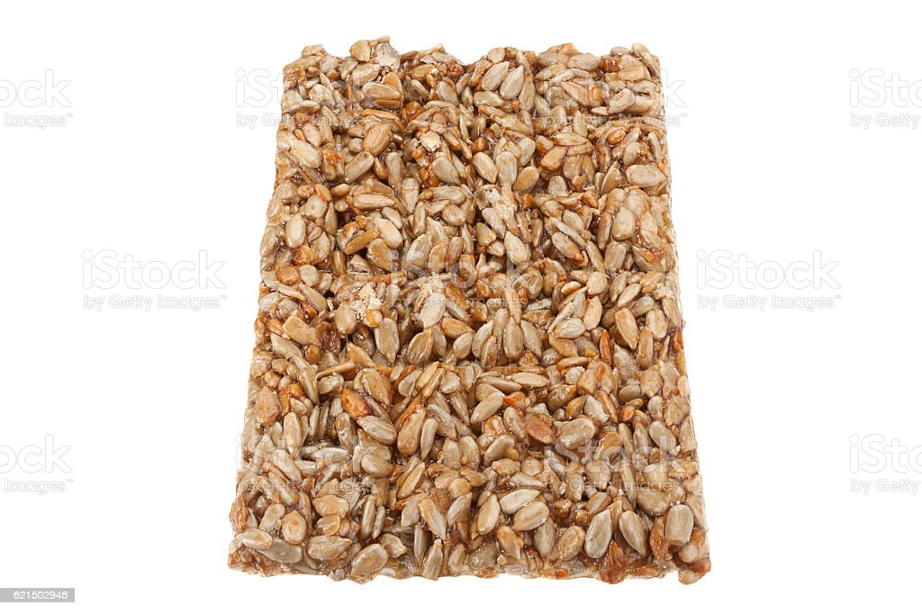 Sunflower seeds in sugar caramel photo libre de droits