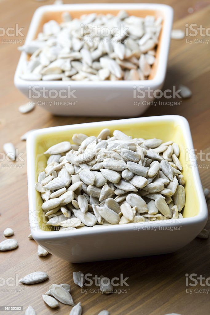 Sunflower seeds royalty-free stock photo