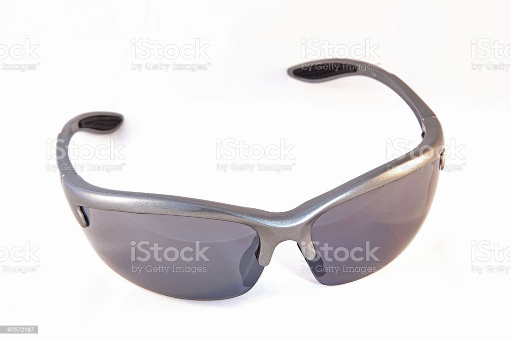 Sunglass isolated on white background royalty-free stock photo