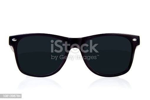 Sunglass on white background