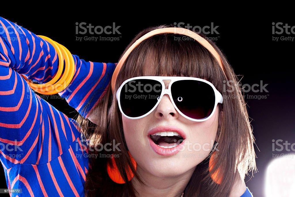 Sunglasses at Night royalty-free stock photo