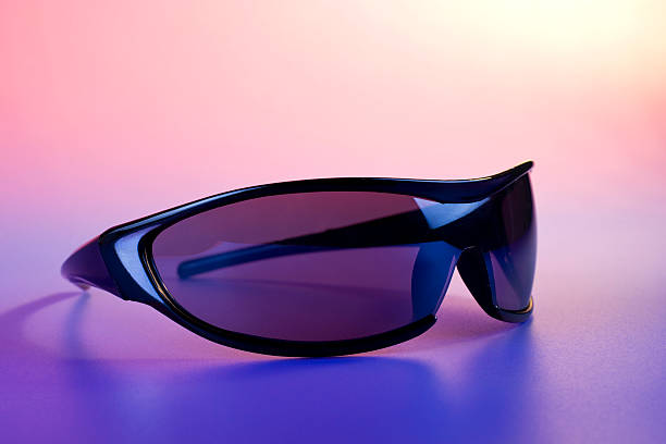 Sunglasses closeup stock photo