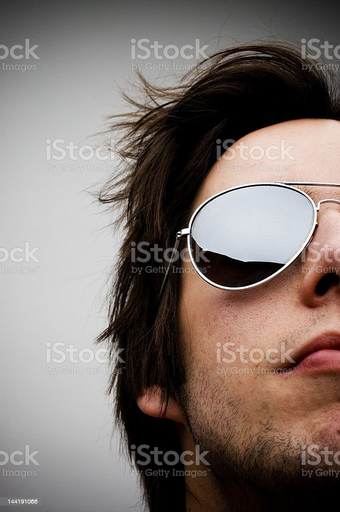 Sunglasses Guy royalty-free stock photo