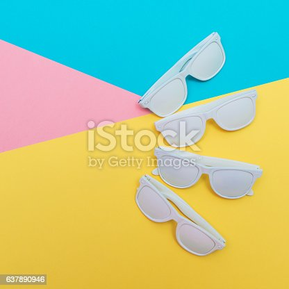 istock sunglasses in disco party style 637890946