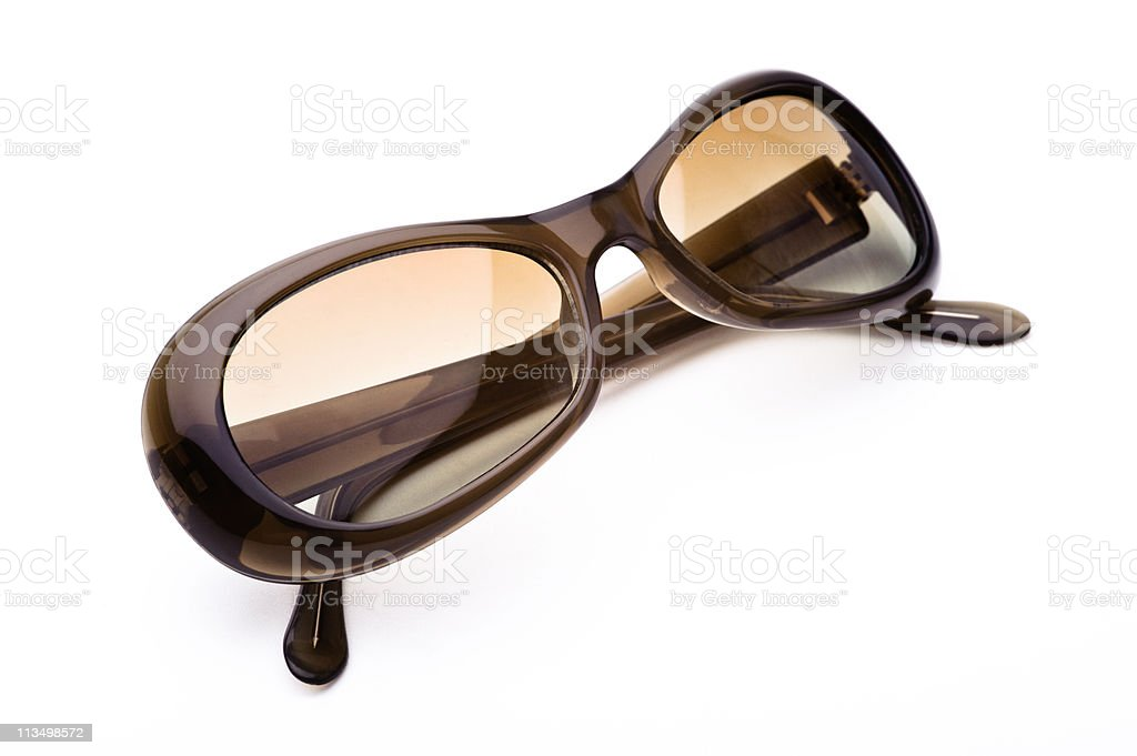 Sunglasses isolated on a white background royalty-free stock photo