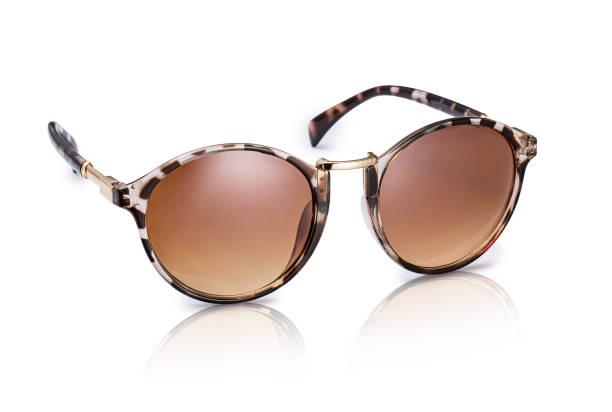 Óculos de sol, isolado no fundo branco  - foto de acervo