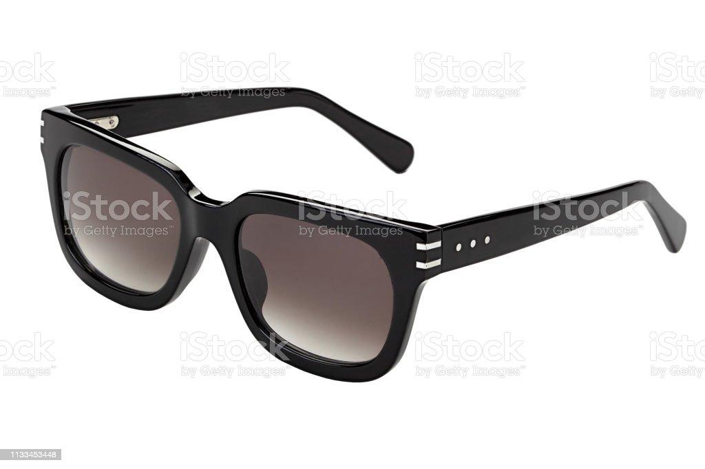 Zonnebrillen geïsoleerd op wit foto