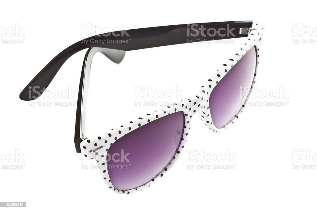 Sunglasses on White Background royalty-free stock photo