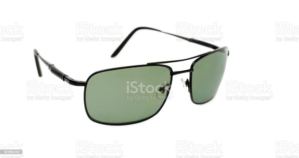 sunglasses over white royalty-free stock photo