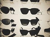 Sunglasses, vintage, summer, shelf