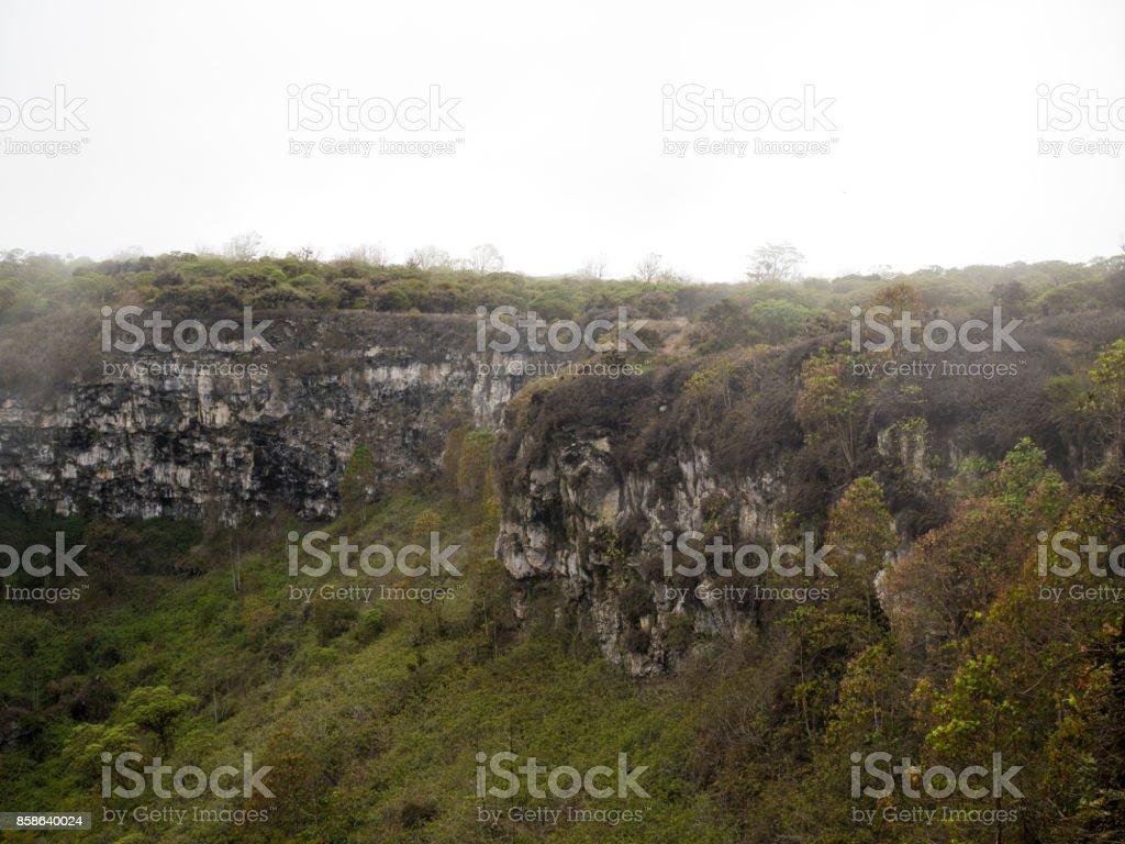 Sunken Lava Domes - Santa Cruz, Galapagos Islands, Ecuador stock photo