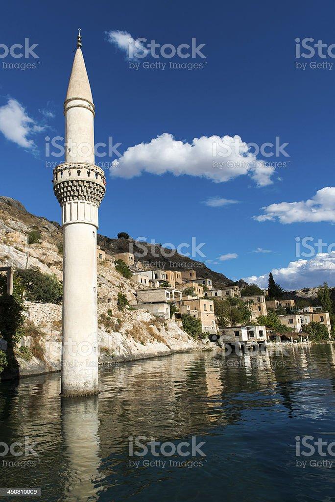 Sunken Minaret stock photo
