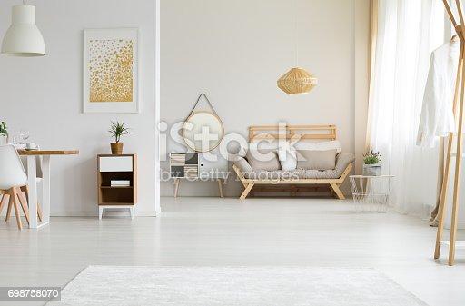 istock Sunlight in living room 698758070