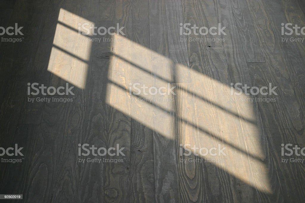 Sunlight Through A Window royalty-free stock photo