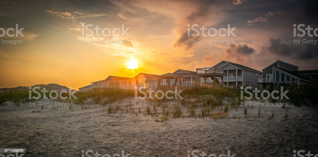 Sunlight Through the Dunes royalty-free stock photo