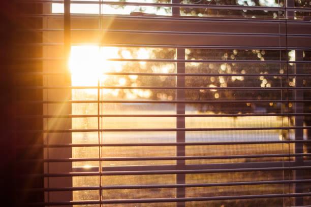 Sonnenlicht durch die Fenster – Foto