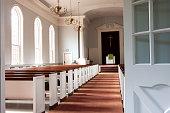 istock Sunlit Chapel 1200417085