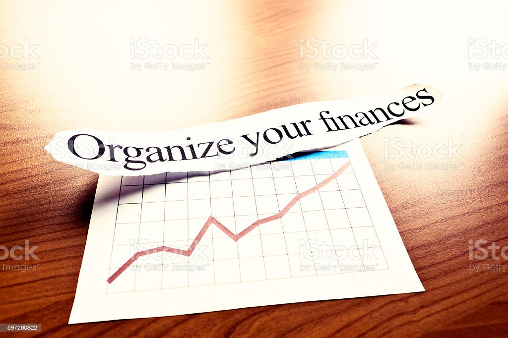 sunlit printout organize your finances with optimistically rising