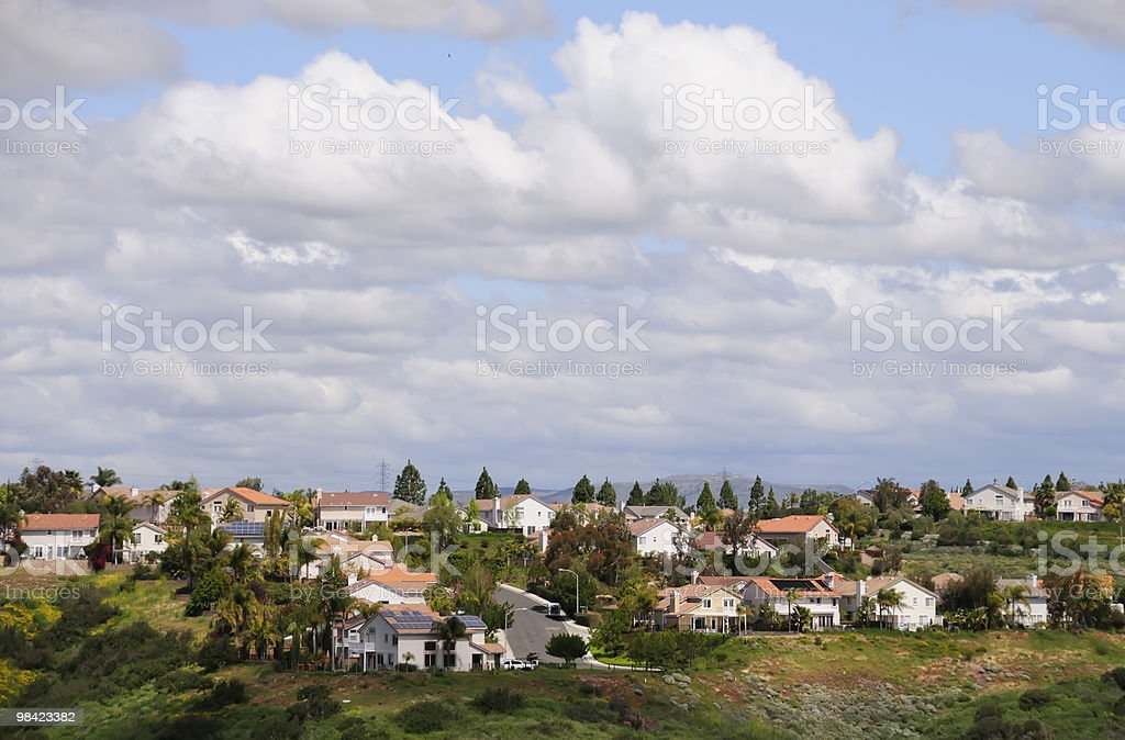 Bel pomeriggio di sole a Sorrento Valley foto stock royalty-free