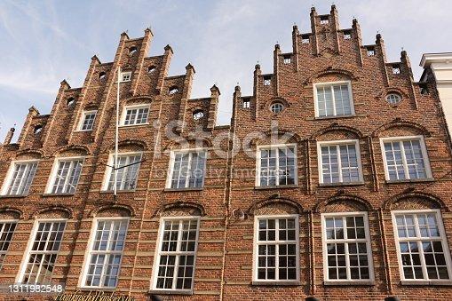istock Sunny autumn day in s'Hertogenbosch in Holland 1311982548