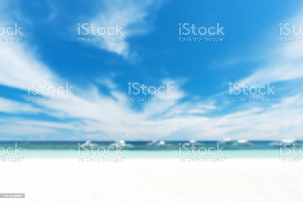 Sunny beach abstract background royalty-free stock photo