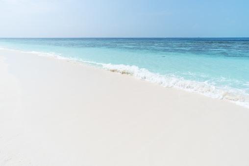 서 니 비치와 바다 웨이브 0명에 대한 스톡 사진 및 기타 이미지