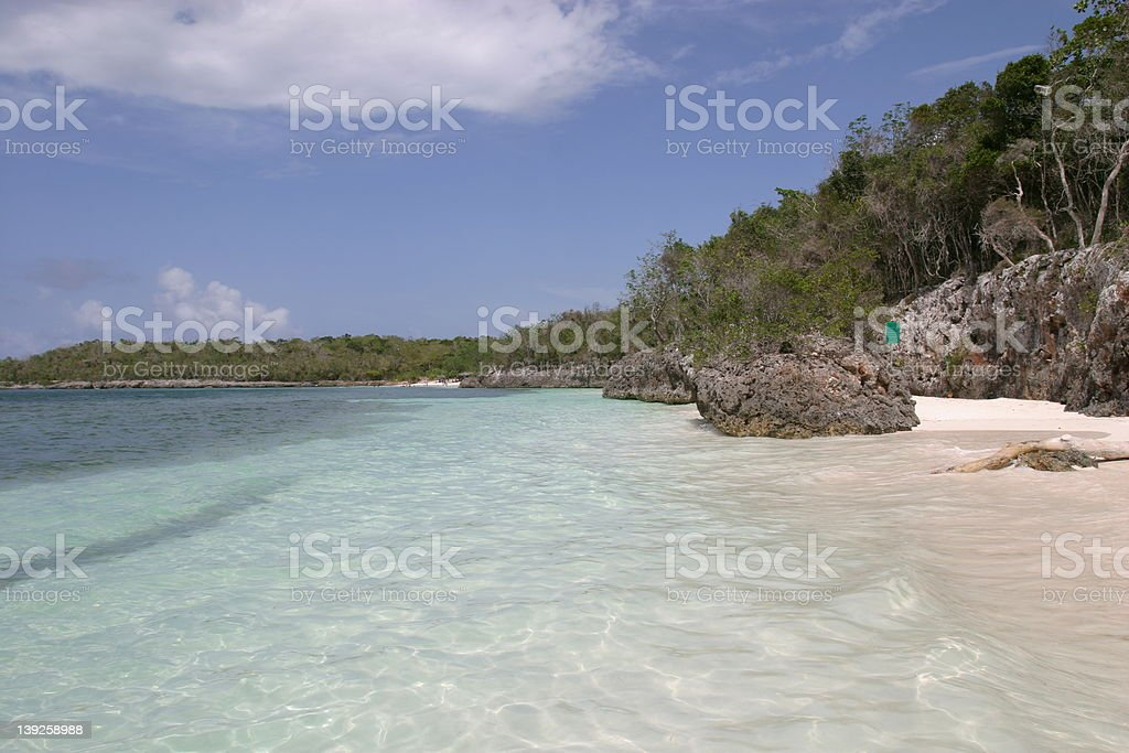 Sunny Beach royalty-free stock photo