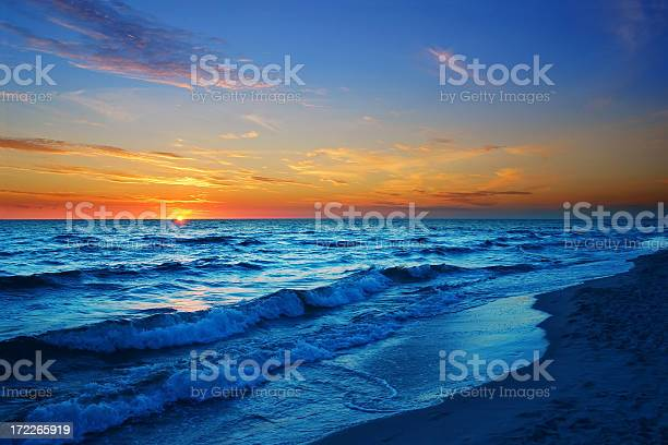 Sunny Beach Stock Photo - Download Image Now