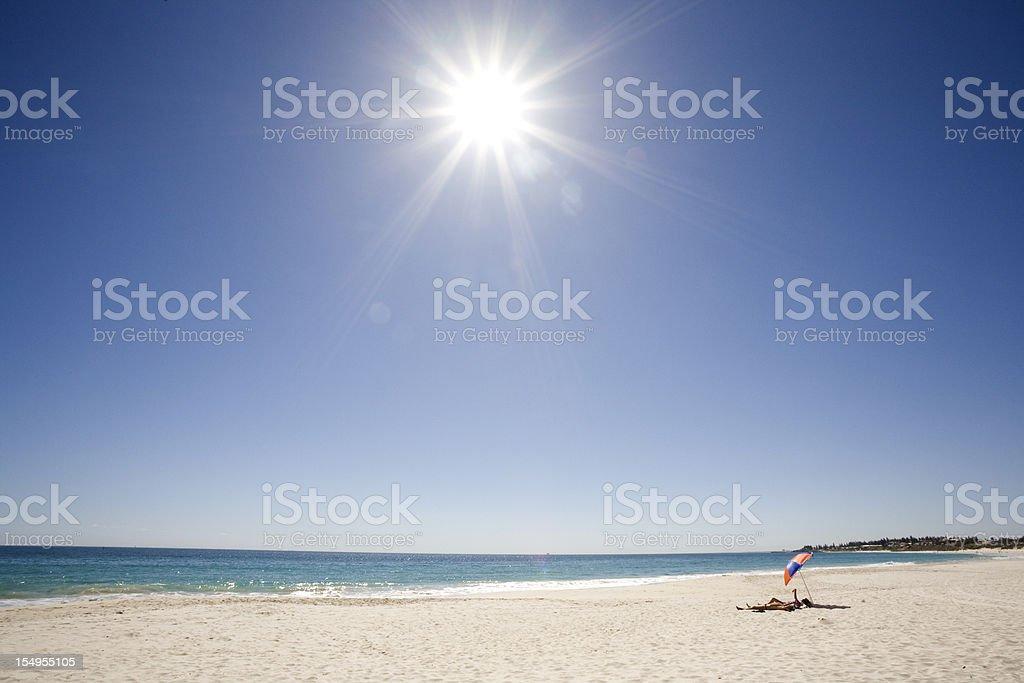 Sommer-Strand – Foto