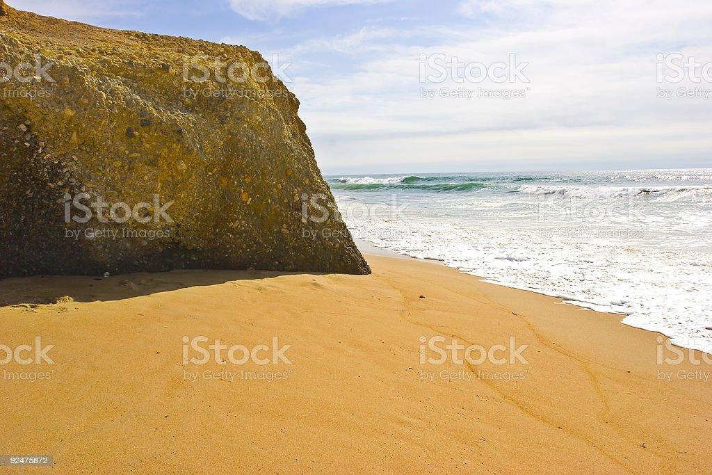 Sunny Coast royalty-free stock photo