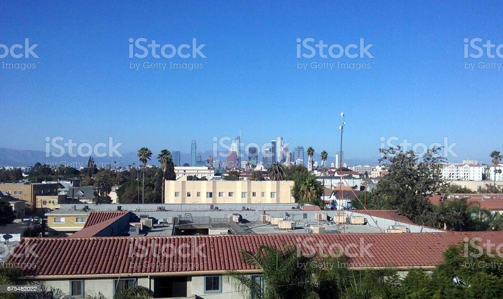 A Sunny Day in Downtown L.A. photo libre de droits