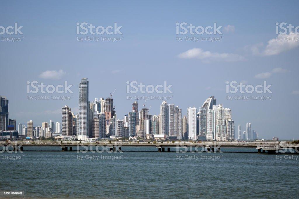 A Sunny Day in Panama City stock photo