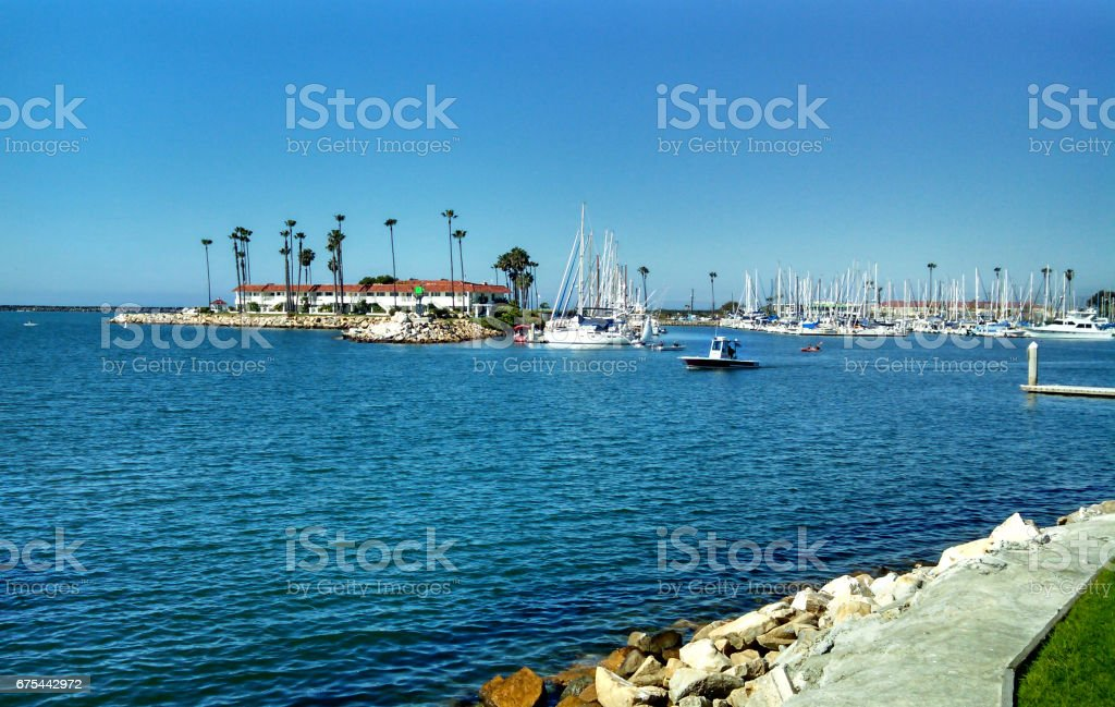 A Sunny Day in San Diego County stock photo