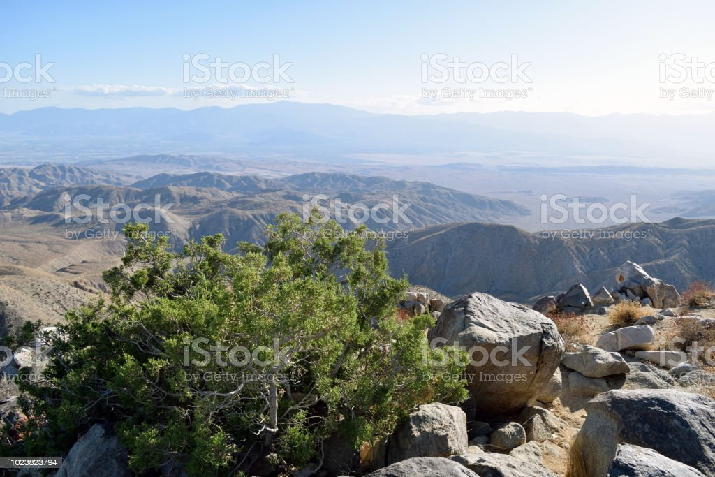 A Sunny Day in the Coachella Valley stock photo