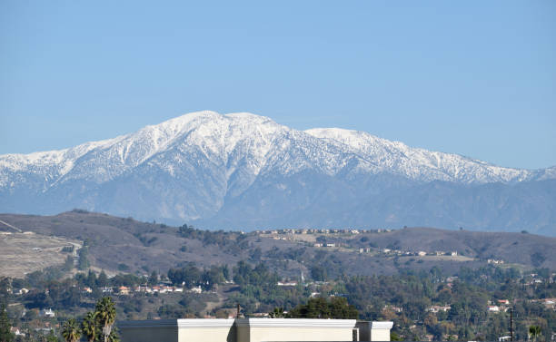 A Sunny Day in the San Gabriel Valley stock photo