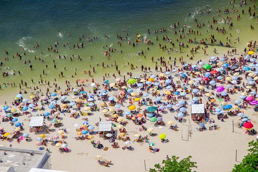 sunny day on Urca beach